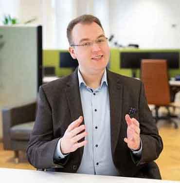 Tim Platner, Geschäftsführer von VINQO