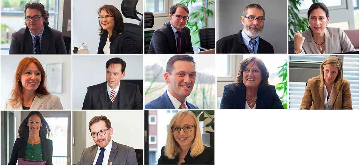 Das Anwaltsteam von Quirmbach & Partner
