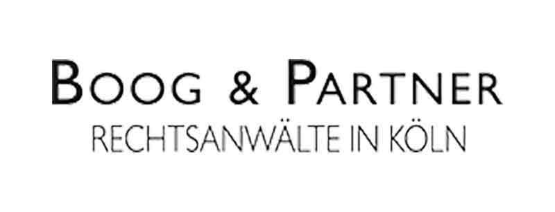 BOOG & PARTNER, Rechtsanwälte in Köln Part mbB