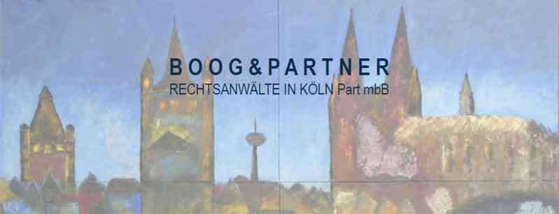 Boog & Partner, Rechtsanwälte in Köln