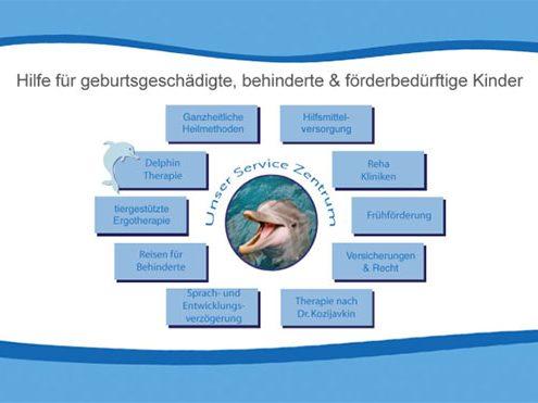 Delphin Netzwerk, Hilfe für geburtsgeschädigte Kinder