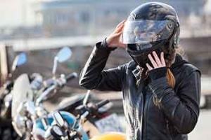 Helmpflicht beim Motorradfahren