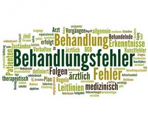 """Behandlungsfehlerstatistik und """"rähentheorie"""""""