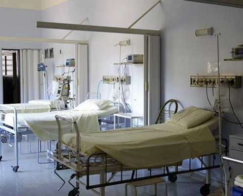 Krankes Krankenhaus