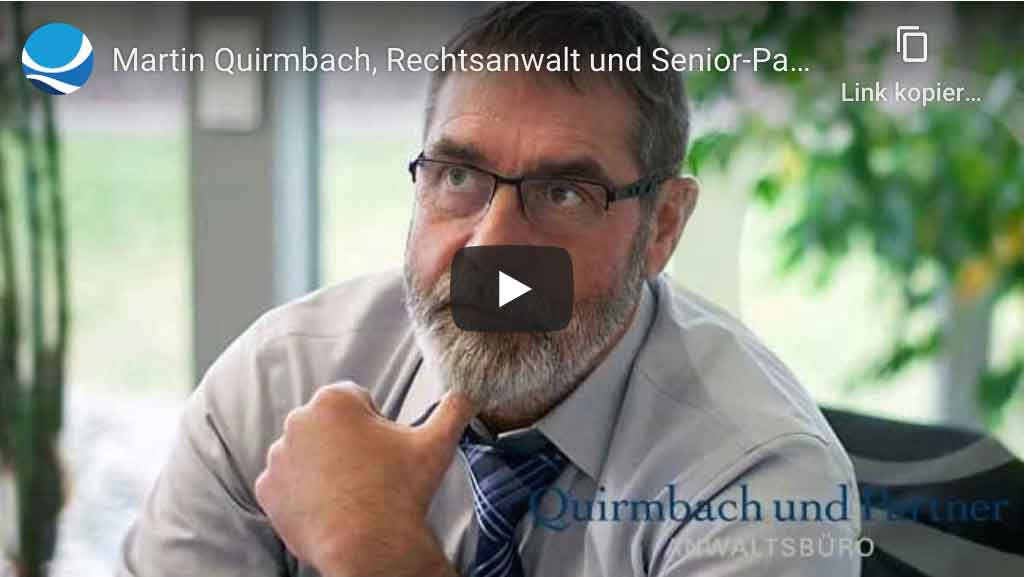 Rechtsanwalt Martin Quirmbach, meine Philosophie
