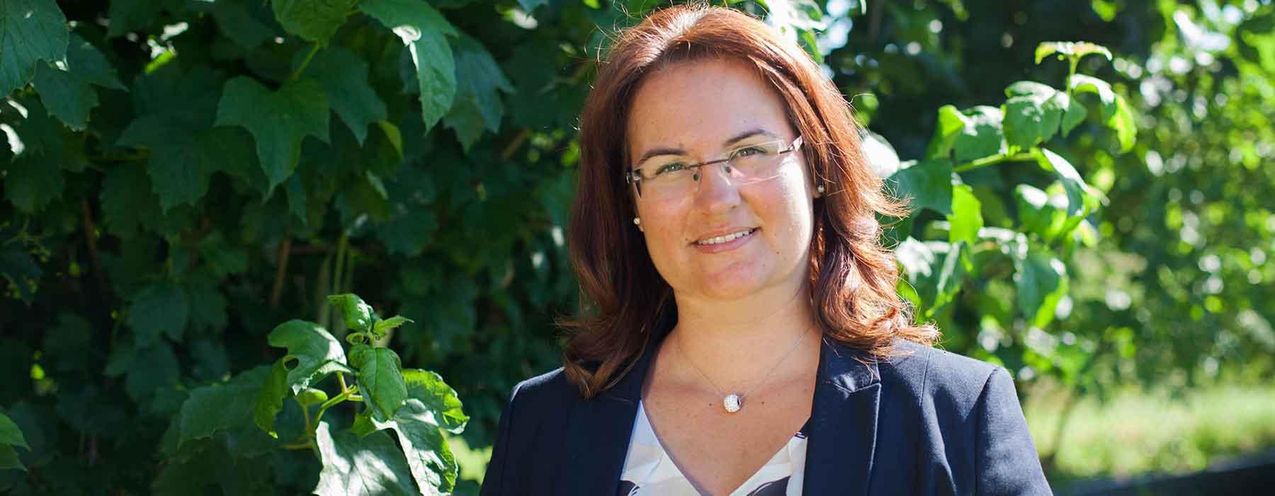 Melanie Mathis, Fachanwältin für Verkehrsrecht und Partnerin