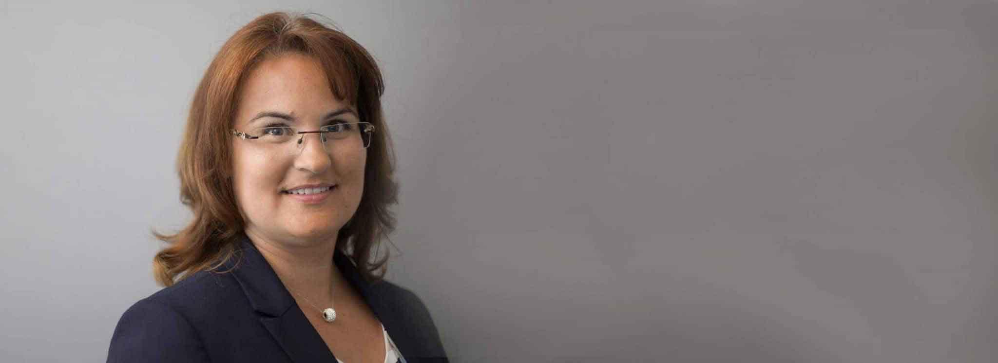 Rechtsanwältin und Partnerin Melanie Mathis
