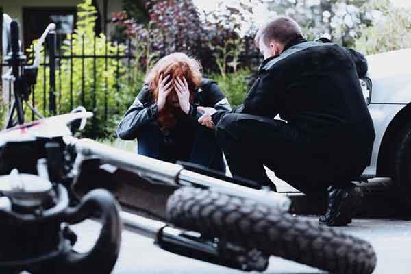 Verletzt nach Motorradunfall