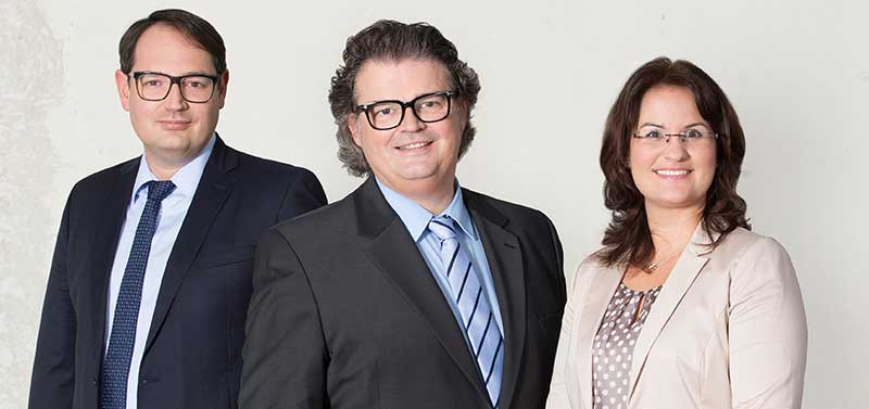 Die neuen Partner des Anwaltsbüros Quirmbach & Partner