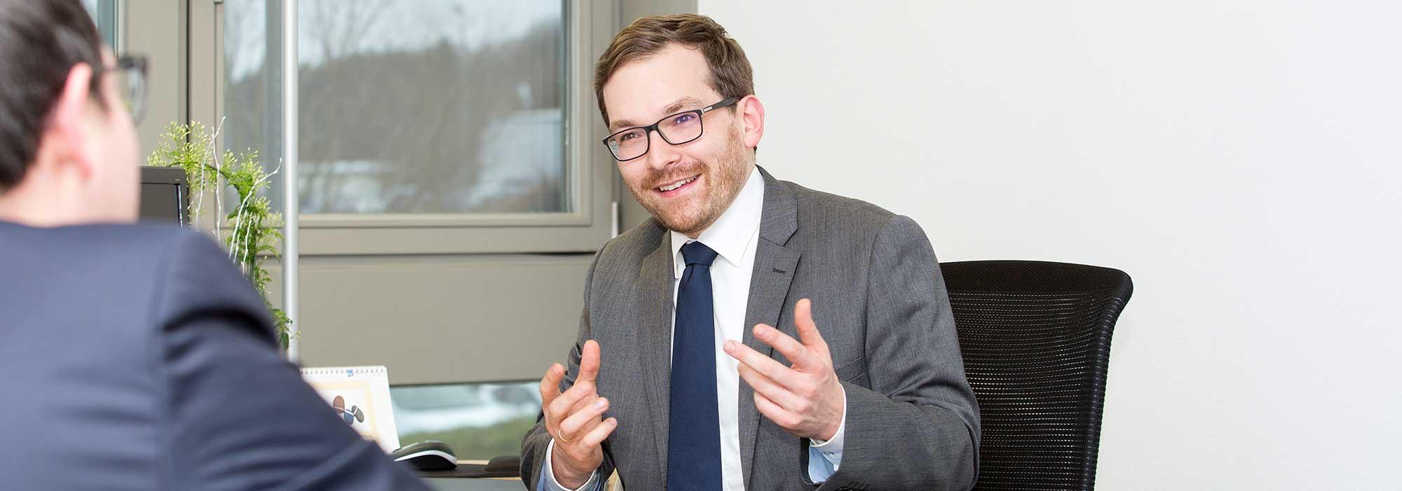 Paul-Albert Schullerus, Rechtsanwalt, Spezialist fürSozialrecht
