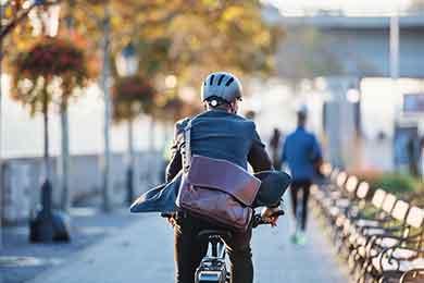 Fahrradfahren und Helmpflicht