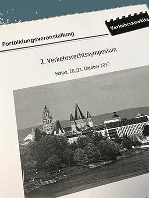 2. Verkehrsrechtssymposium in Mainz