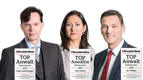 Quirmbach & Partner, TOP Anwälte Medizinrecht