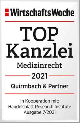TOP-Kanzlei Medizinrecht
