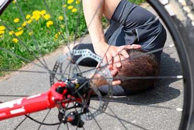 Kopfverletzung nach Verkehrsunfall