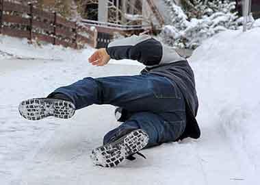 Unfallgefahren im Winter